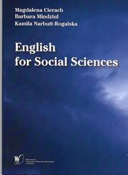 English for Social Sciences, Magdalena Cierach, Barbara Mindziul, Kamila Narbutt-Rogalska