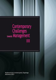 Contemporary Challenges towards Management III - 07 Personality and behavioural factors determining the innovative activity of employees,